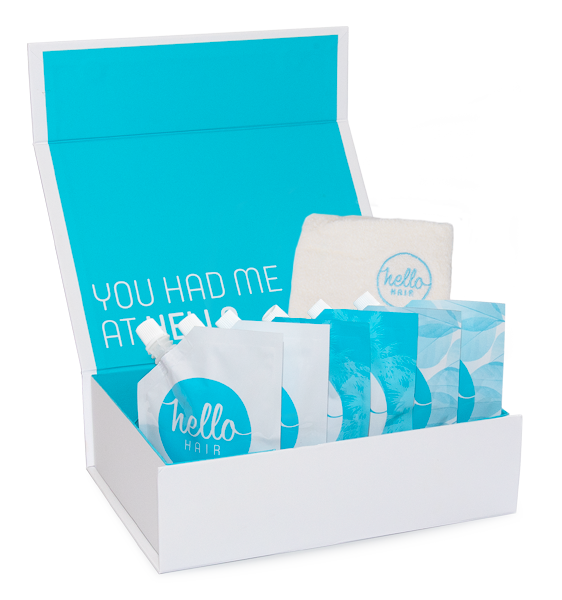 Hello Hair Gift Set