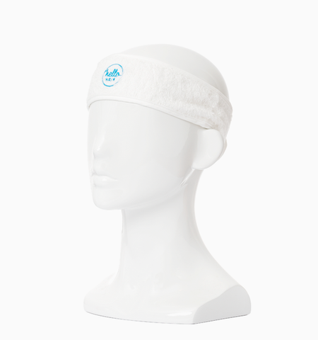 Hello Hair Towel Headband