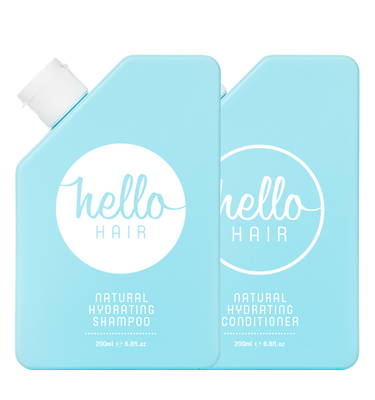 Hello Hair Hydrating Shampoo + Conditioner Duo | BACK IN STOCK!