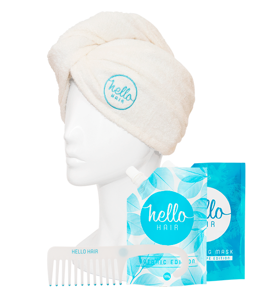 Hello Hair Treat Your Tresses Pack