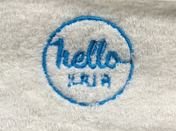 Hello Hair Towel Pillow Cover - UNBOXED