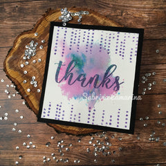 00-928P5 A Big Thanks Rubber Stamp Set