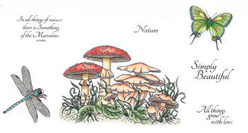 Nature - Rubber Stamp Set [00-478P5]