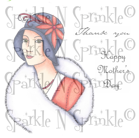 Digital Stamp Set 535 Isabella [DIGI535]