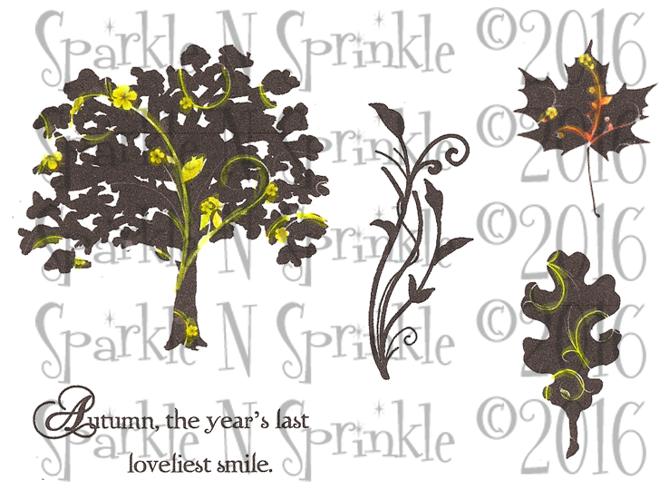 Loveliest Smile Digital Stamp Set, DIGI754