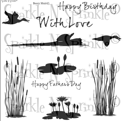 Wetlands 2 - Rubber Stamp Set [00-791P6]