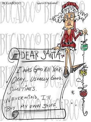 Stella-Dear Santa Digital Stamp Set [Digi804BG]