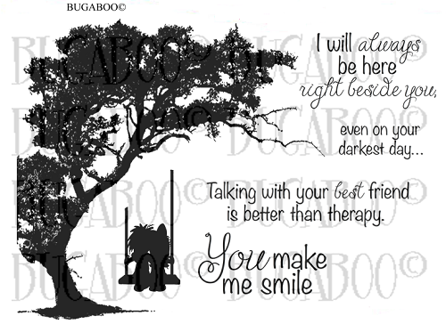 Digital Stamp Set 812 Right Beside You [Digi812BG]