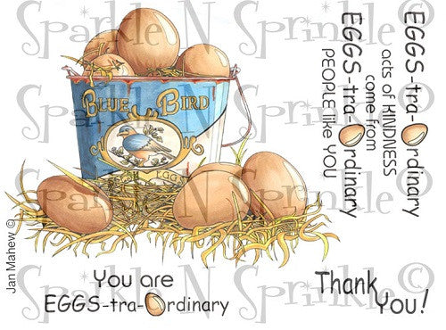 Eggs-traordinary Kindness Digital Stamp Set [Digi825j]
