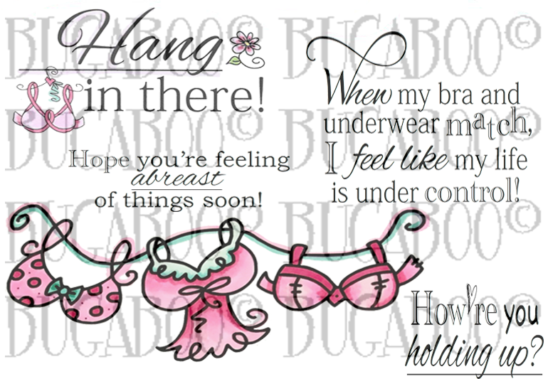Girlfriend Support Set 2 Digital Stamp Set [Digi839BG]