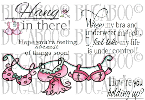Digital Stamp Set 839 Girlfriend Support 2 [Digi839BG]