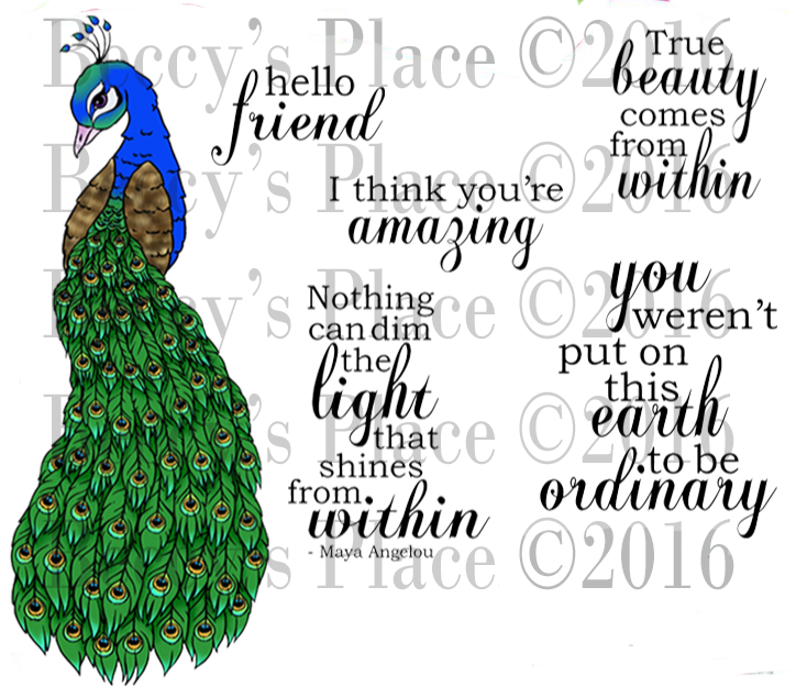 True Beauty Digital Stamp Set [Digi844B]