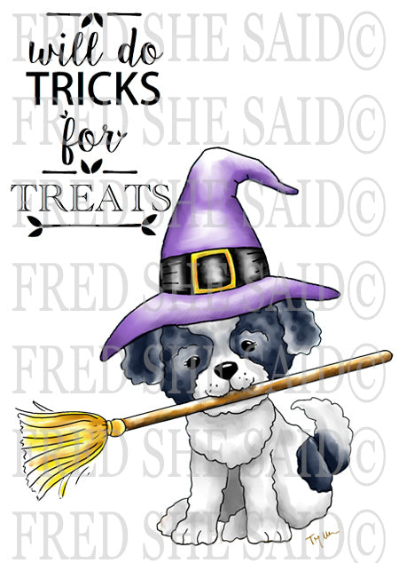 A Puppy's Halloween Digital  Set [DIGI863FS]