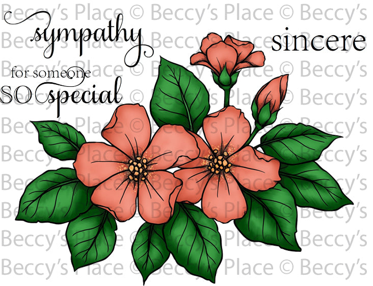 Pretty Blooms Digital Stamp Set [DIGI873B]