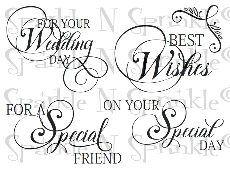 Ornate Greetings Digital Stamp Set [Digi880DE]