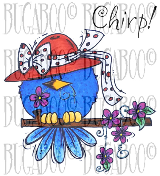 Bonnet Birdie Digital Stamp Set [Digi885BG]