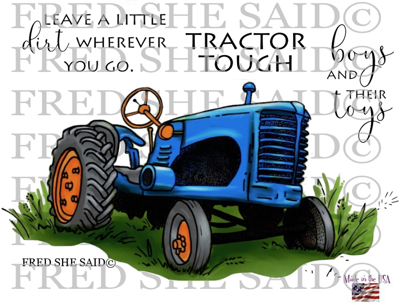 The Old Tractor Stamp Set [00-910P5]