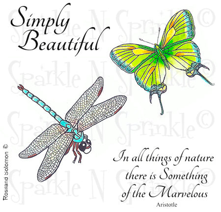 Nature - Simply Beautiful Digital Stamp Set [DIGI589R]