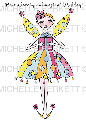 Digi Stamp Set Magical Birthday Sprite 3135M