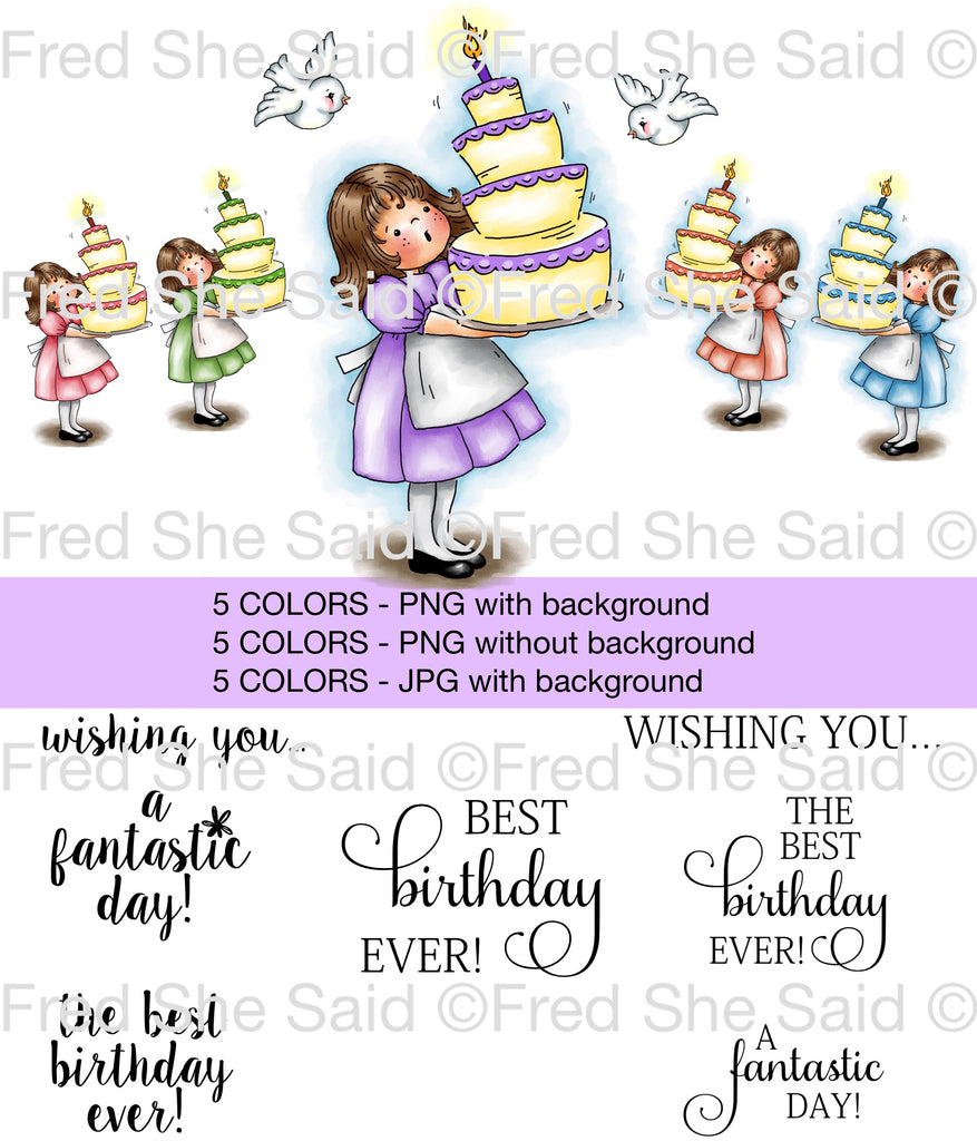 Emma's Best Birthday Digital Stamp Set [DIGI902FS]