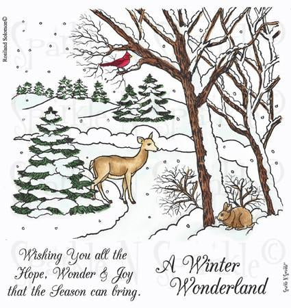 Winter Wonderland Digital Stamp Set [DIGI517R]