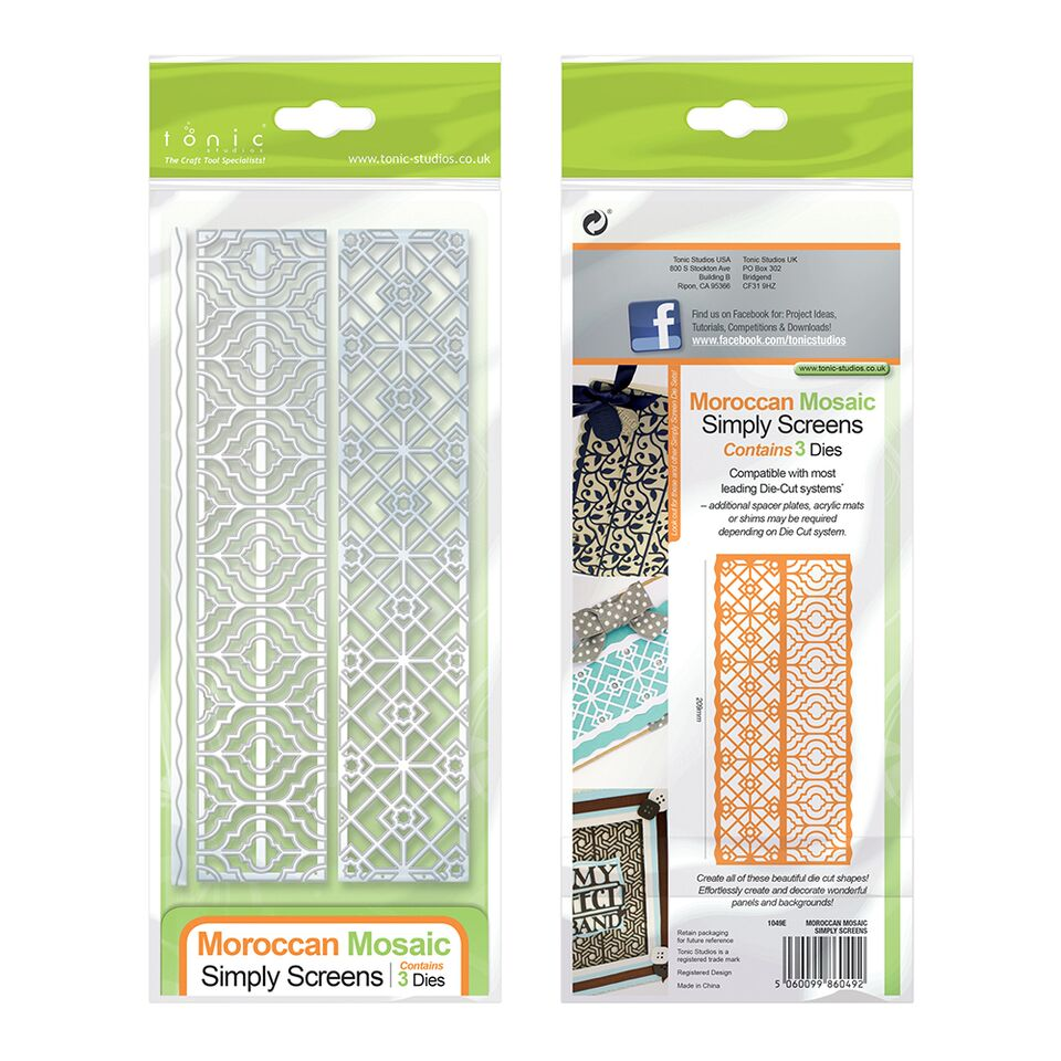 Die Simply Screens Moroccon Mosaic [1049e]