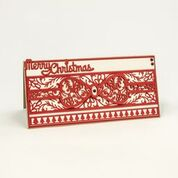 Christmas Strip Ribbons and Bows Die Set [1092e]