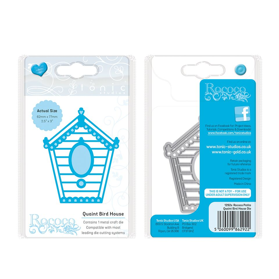 Home Collection Rococo Petite Birdhouse [1292e]