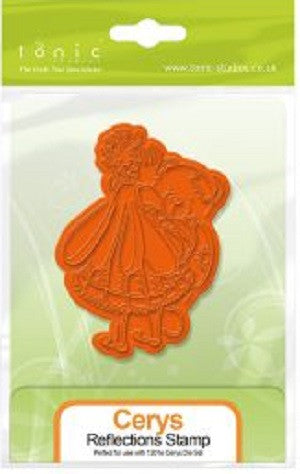 Tonic Rubber Stamp Fairy Reflections Cerys [1301e]