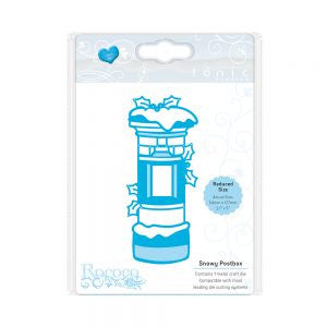 Tonic Die Rococo Christmas Snowy Postbox 1377e