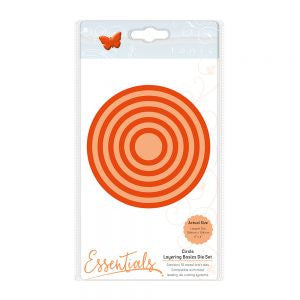 Tonic Die Layering Basics Die Set Circle 1454e