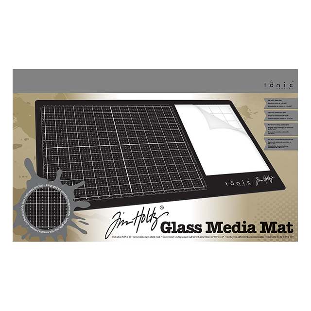 Tim Holtz Glass Media Mat - 1914e