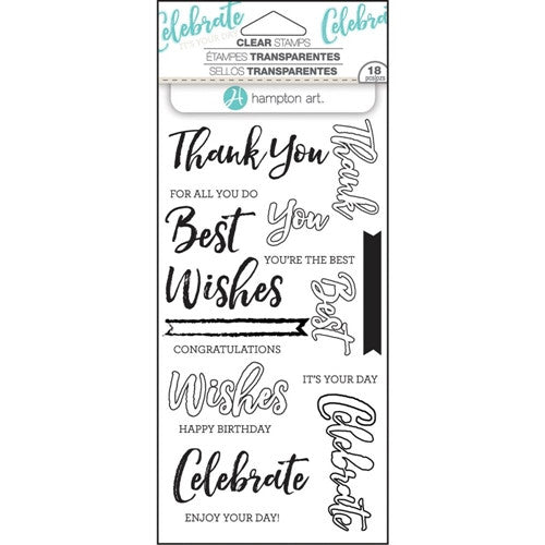 Words Layering Hampton Art Stamp Set [SC0752]