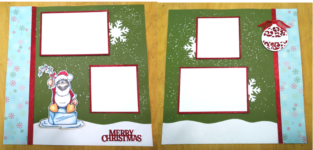 Crop - 2 Page Holiday Layout KIT