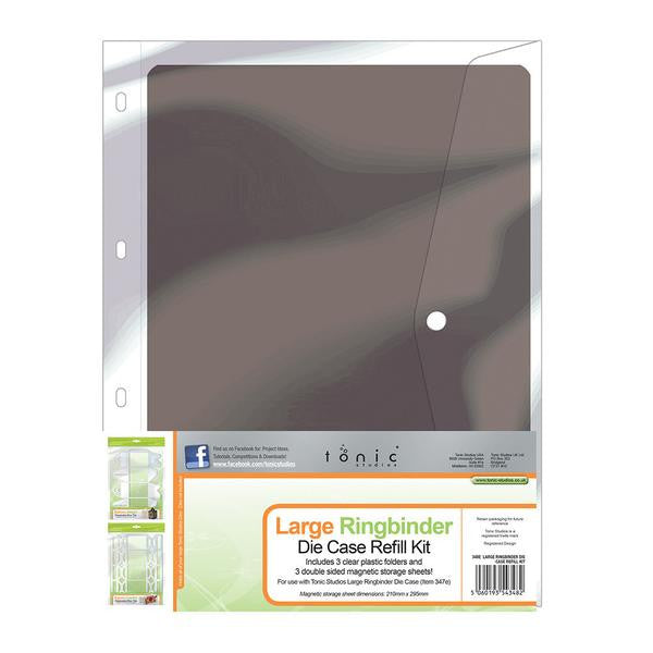 Ringbinder Die Case Refill Kit -Large [348E]