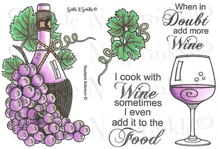 Digital Stamp Set 450 Chianti [DIGI450R]