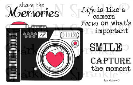 Camera Life Digital Stamp Set [Digi620J]