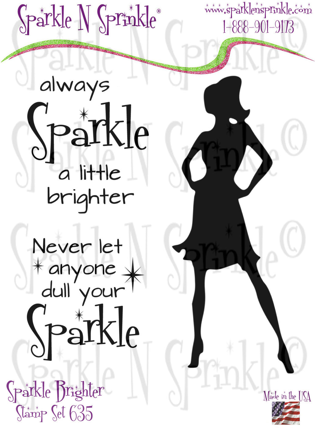Sparkle Brighter - Rubber Stamp Set [00-635P7]