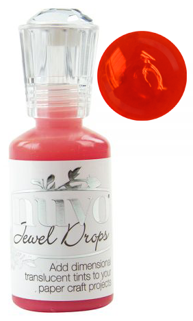 Nuvo Jewel Drops-Strawberry Coulis 643N
