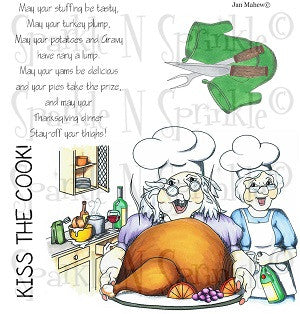Thanksgiving Friends Digital Stamp Set [Digi656J]