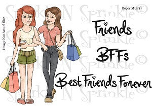 BFF's Digital Stamp Set [Digi696b]