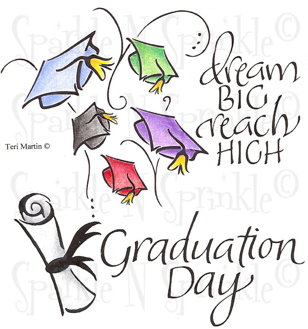 Graduation Day Stamp Set [00-705P7]