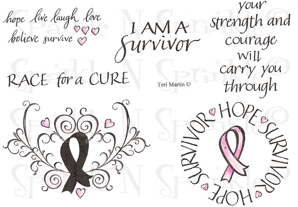 Survivor Rubber Stamp Set [00-713P5]