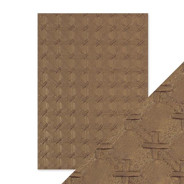 Craft Perfect Embossed Paper Patchwork Parchment [9793e]