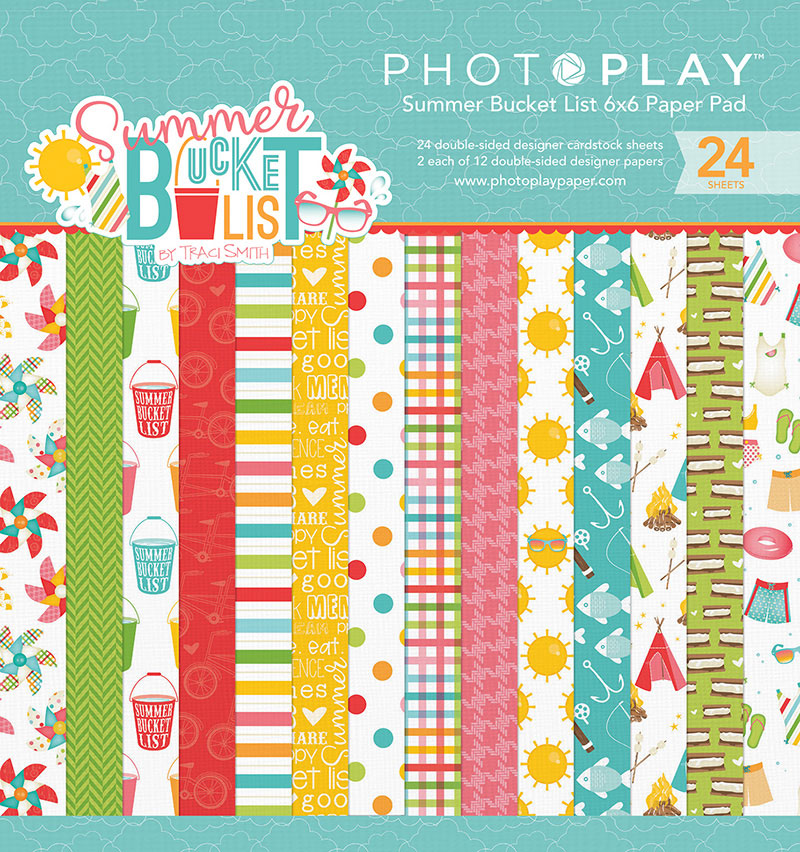 "6""x 6"" Photo Play Double Sided Pack [BL2566]"