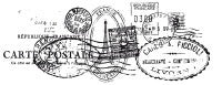Clear Stamp - Postmarks [CS802]