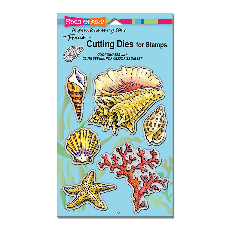 Seashells Die Cut Set [DCS5090]