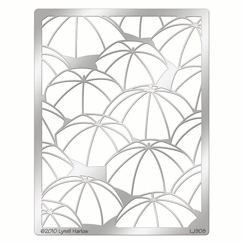 Umbrella Background Stencil, DWLJ908