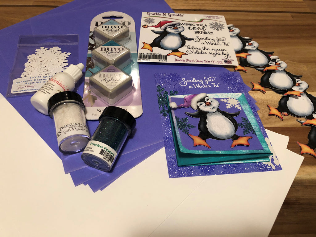Dancing Penguin August Video Kit, V09-18