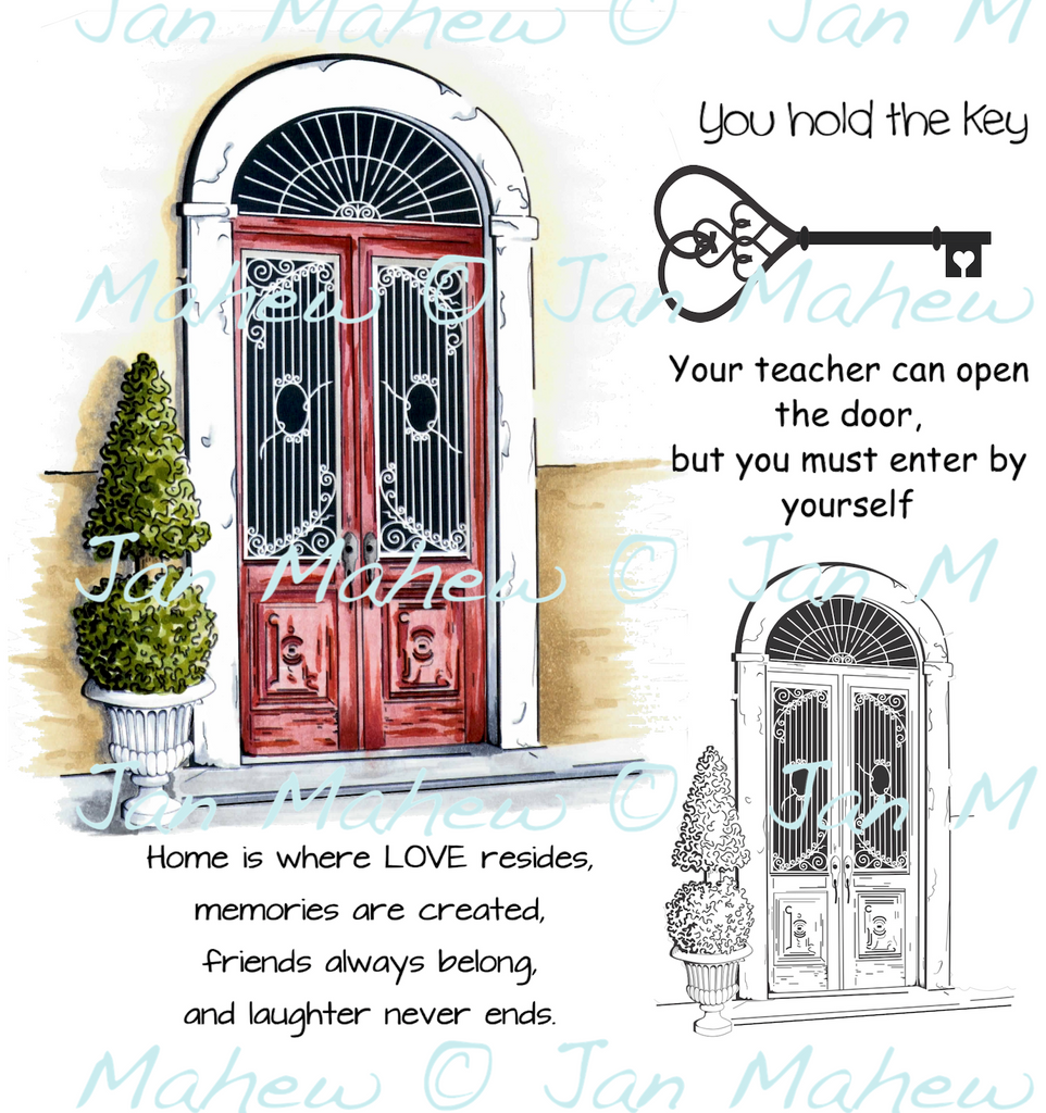 You Hold the Key Digital Stamp Set [DIGI3159J]